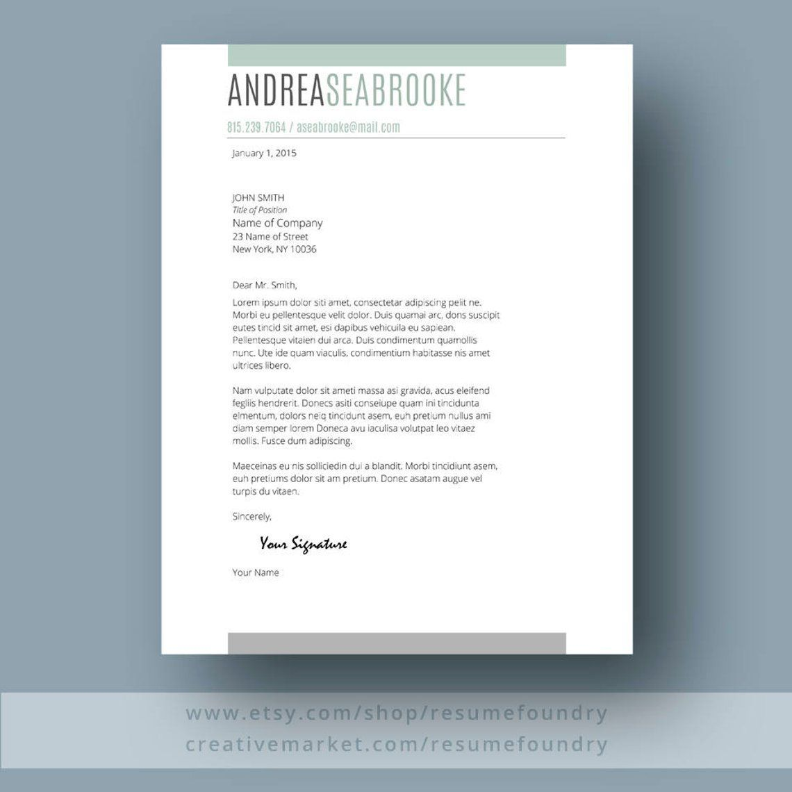 student resume template for word 1