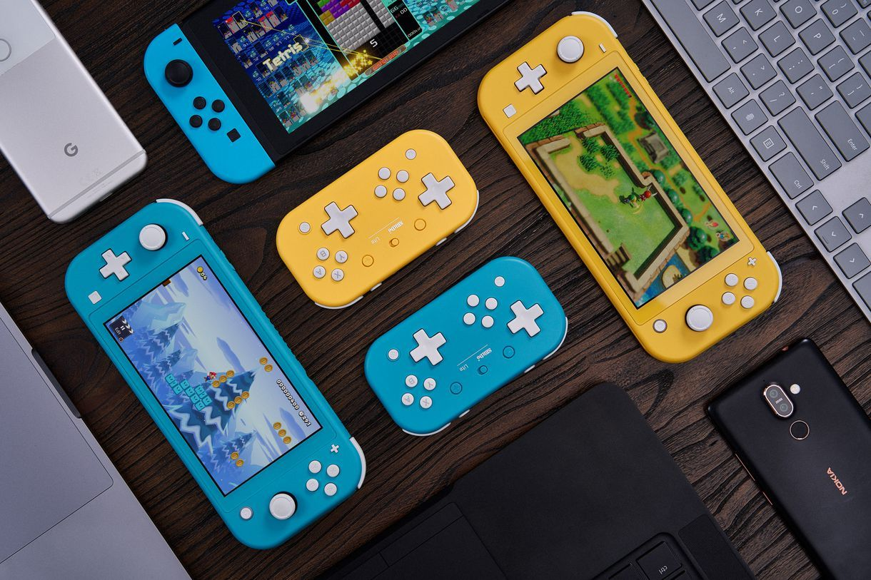 Here S A Cute Controller To Go With Your Cute Switch Lite In 2020 Nintendo Nintendo Switch Nintendo Lite
