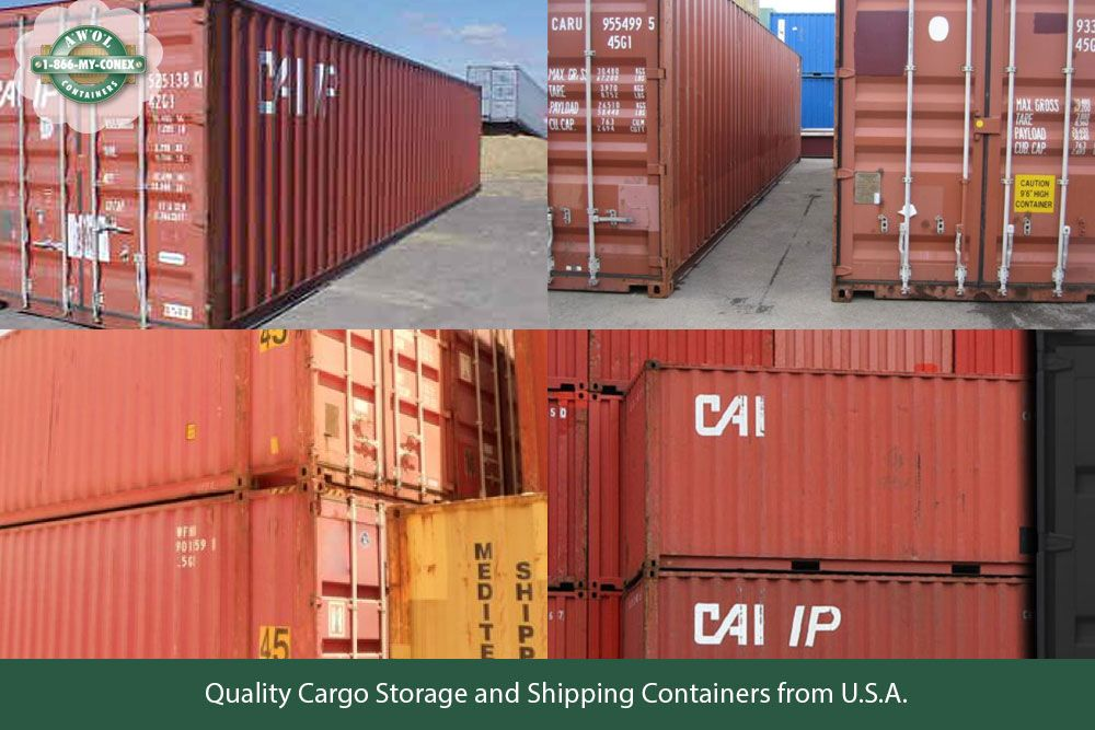We Are Providing Best Cargo Container In Usa These Cargo Container Has More Space For Storaging And Shipping Container Cargo Storage Used Shipping Containers
