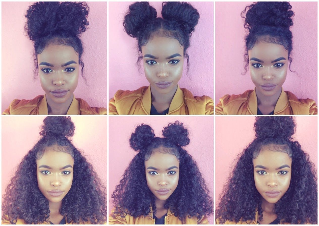 Natural Hair 6 Bun Styles For Curly Hair Curly Hair Styles Curly Hair Styles Naturally Natural Hair Styles