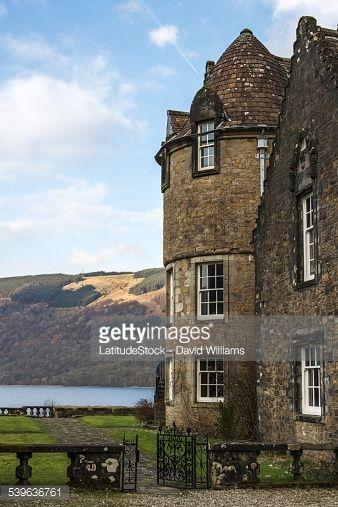 Stock Photo : Ardkinglas, Loch Fyne, Argyll and Bute, Scotland - UK