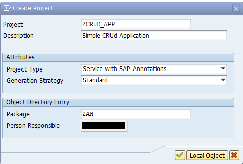 Building your first fiori App with backend connection and