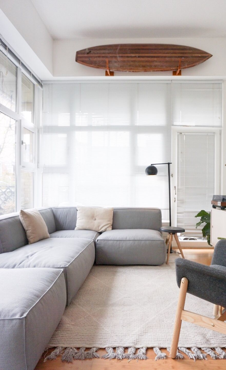 A Modular Sofa For Our Small Space Sofas For Small Spaces Small Apartment Bedrooms Couches For Small Spaces