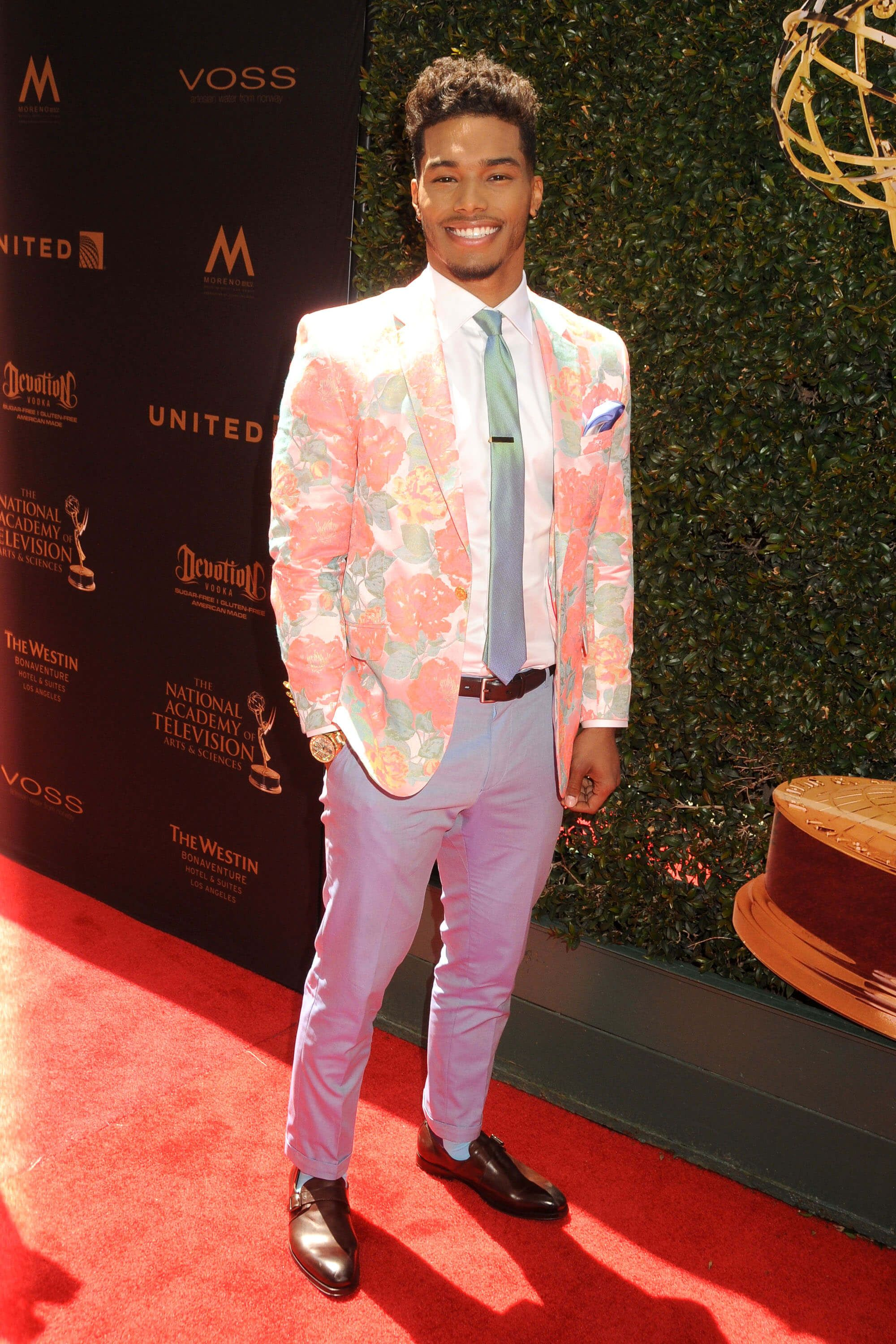 Rome Flynn at the Day Time Emmy Awads 2016 Credit Splash