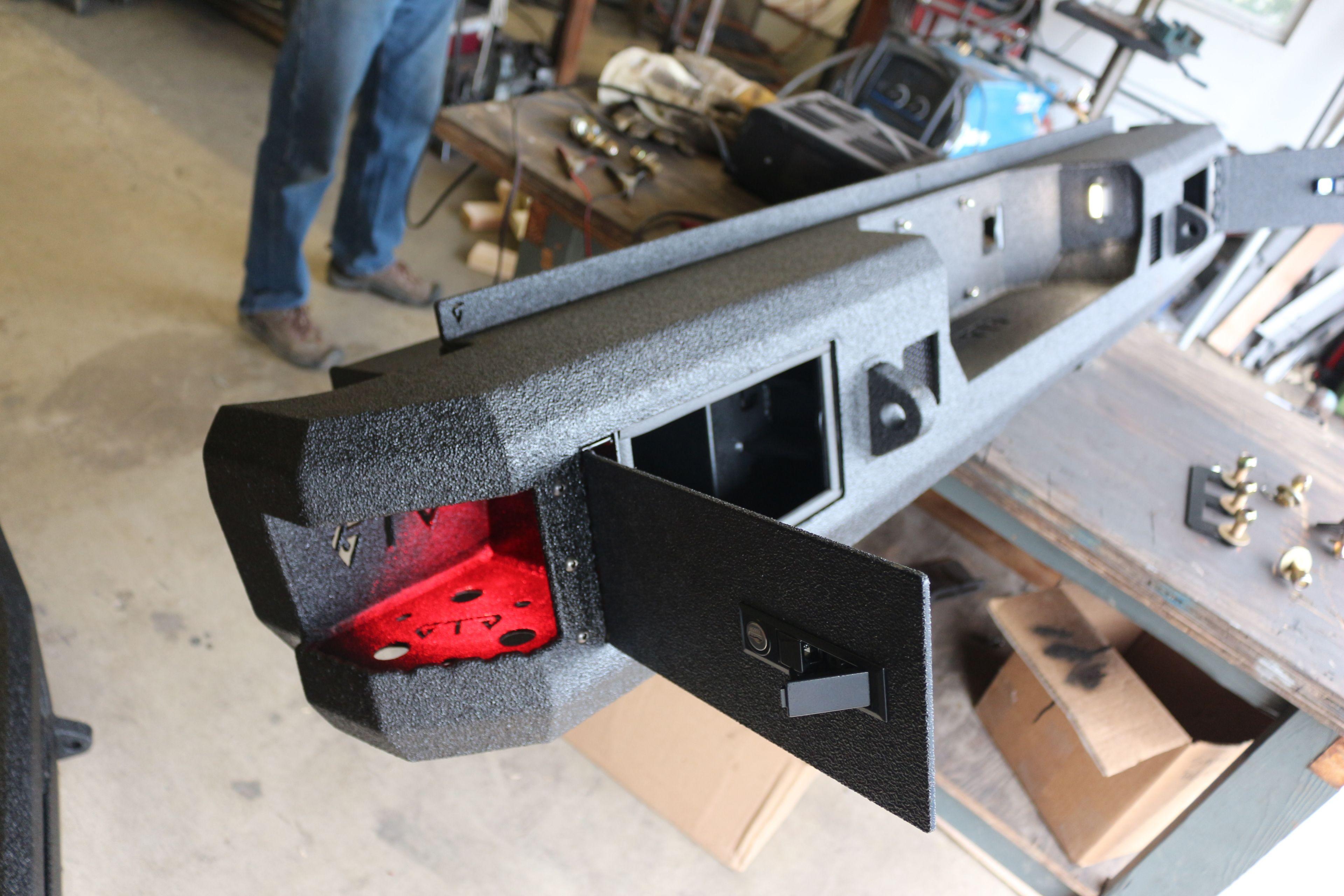 Storage Rear Bumper Truck Bed Truck Storage Trucks