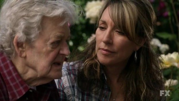 Gemma and her pops | Season 3 - Sons of Anarchy