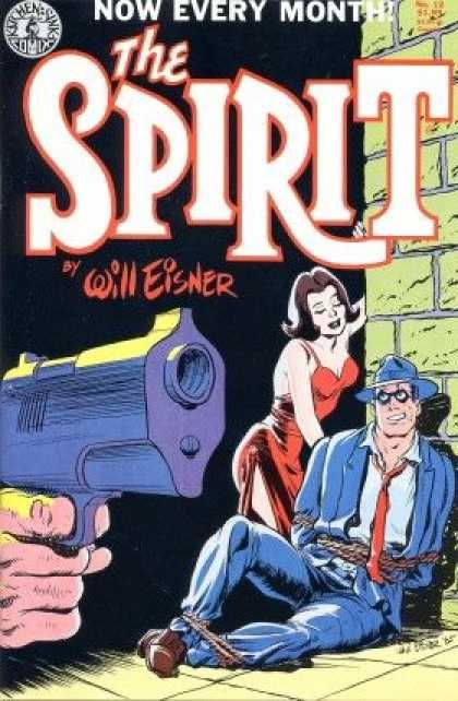 Kitchen Sink Comics - Will Eisner - Red Dress - Gun Barrel - Blue ...
