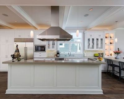 Kitchen island back panel ideas