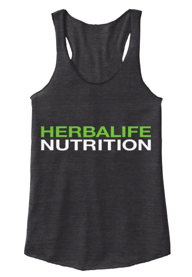 Simple, but effective Herbalife shirts available in