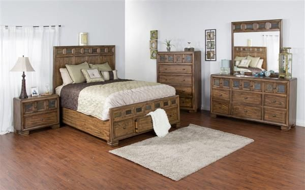Furniture Collection · Coventry Wood 5pc Bedroom Set W/Queen Bed