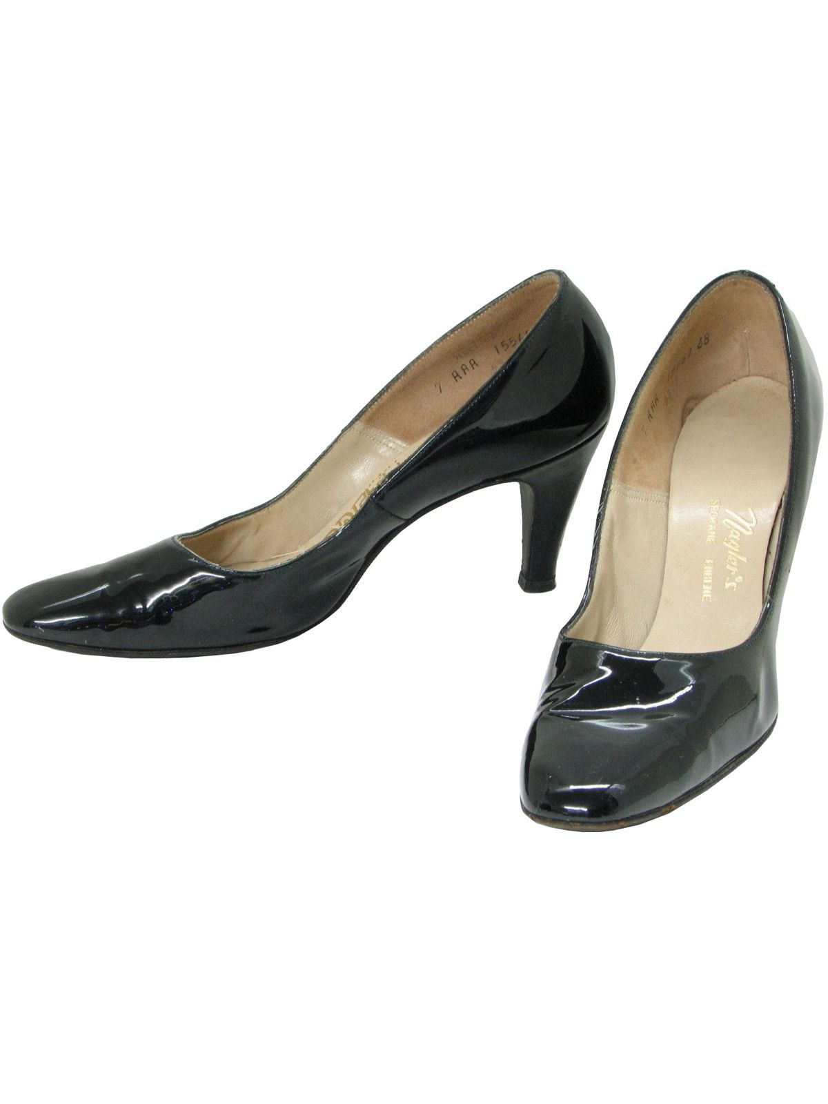 15ea27ff80 1960's Geppetto Womens Shoes in 2019 | Stage craft 2 | Black patent ...