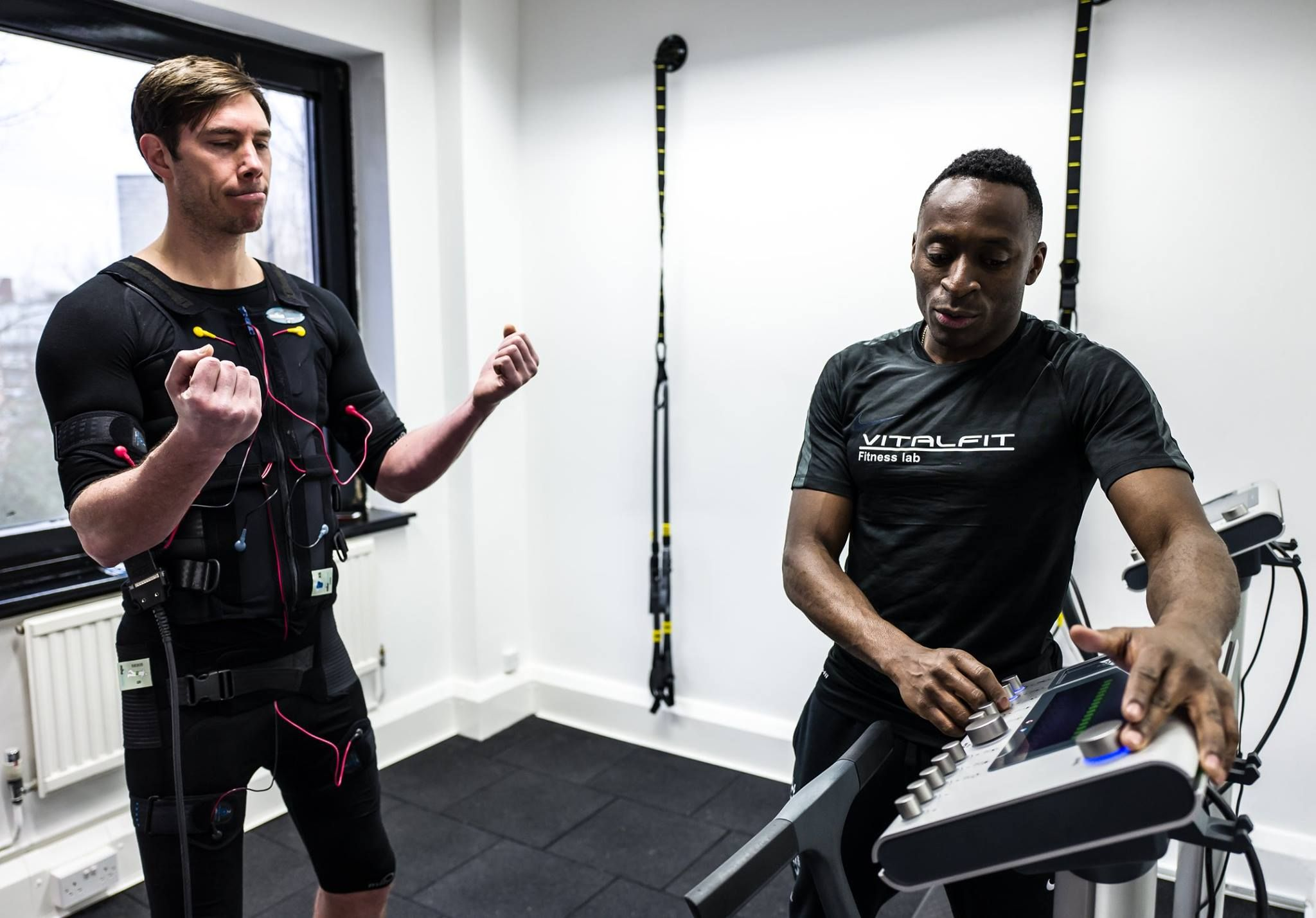 New Ems Studio In London Uk Vitalfit Fitness Lab Offers The Newest Technology With Miha Bodytec Unit 49 Skylines Business Village Train The Unit London Uk