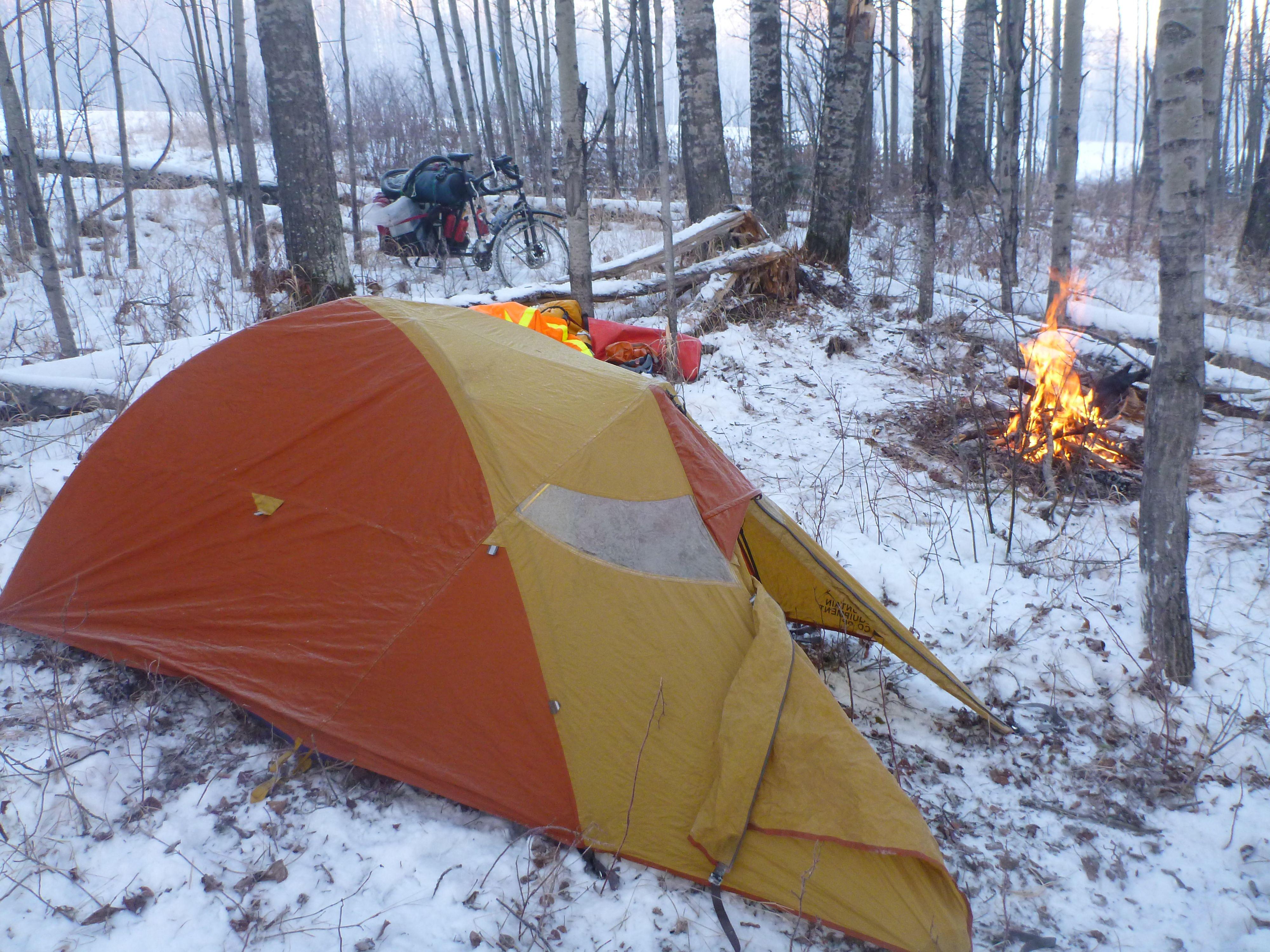 Equipment u campsite winter tips gone fishin pinterest