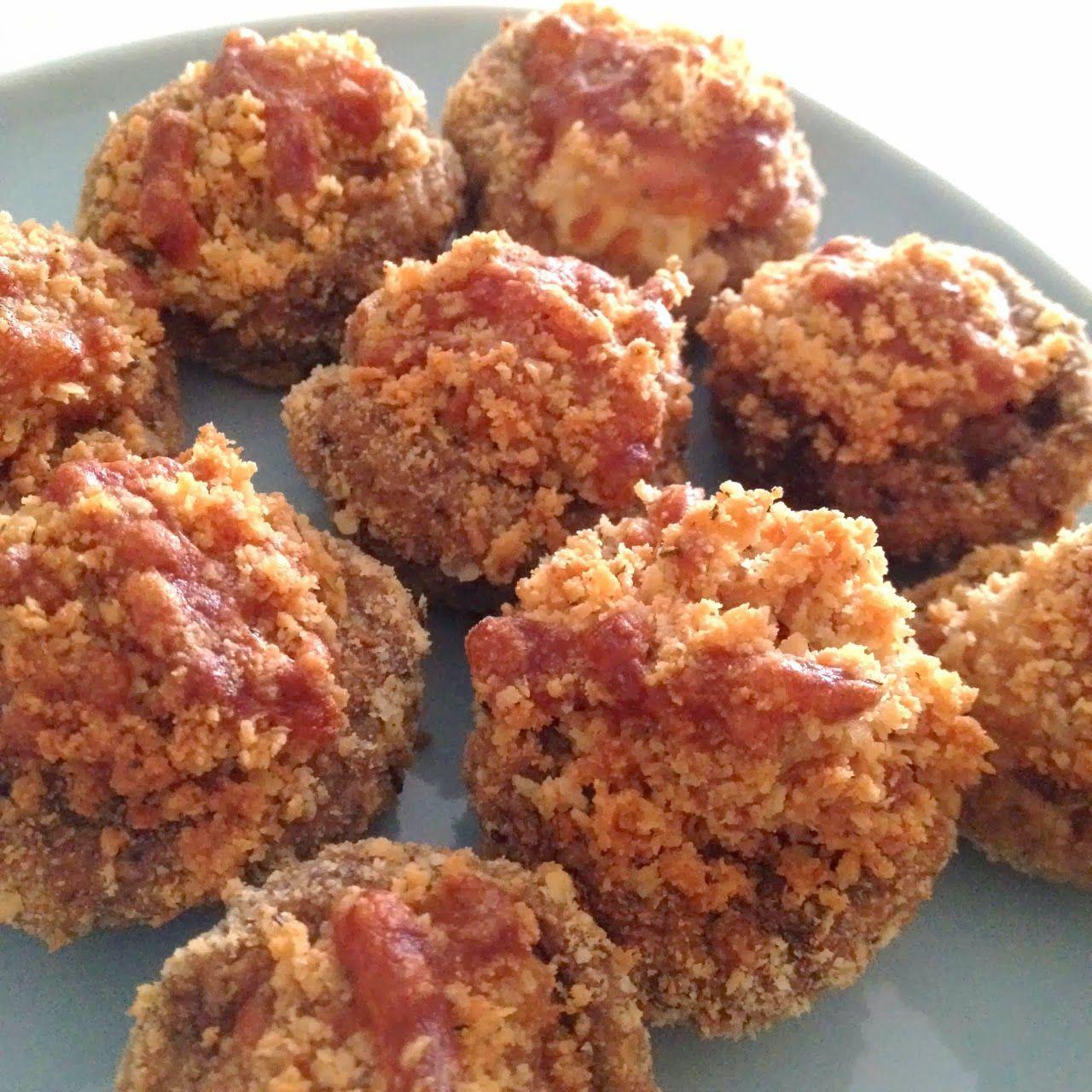 Crusted Parmesan Mushrooms (Air Fryer Recipe) Air fryer