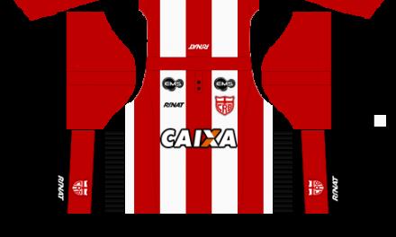 Kit CRB 2018 novo uniforme para DLS 19 – Dream League Soccer
