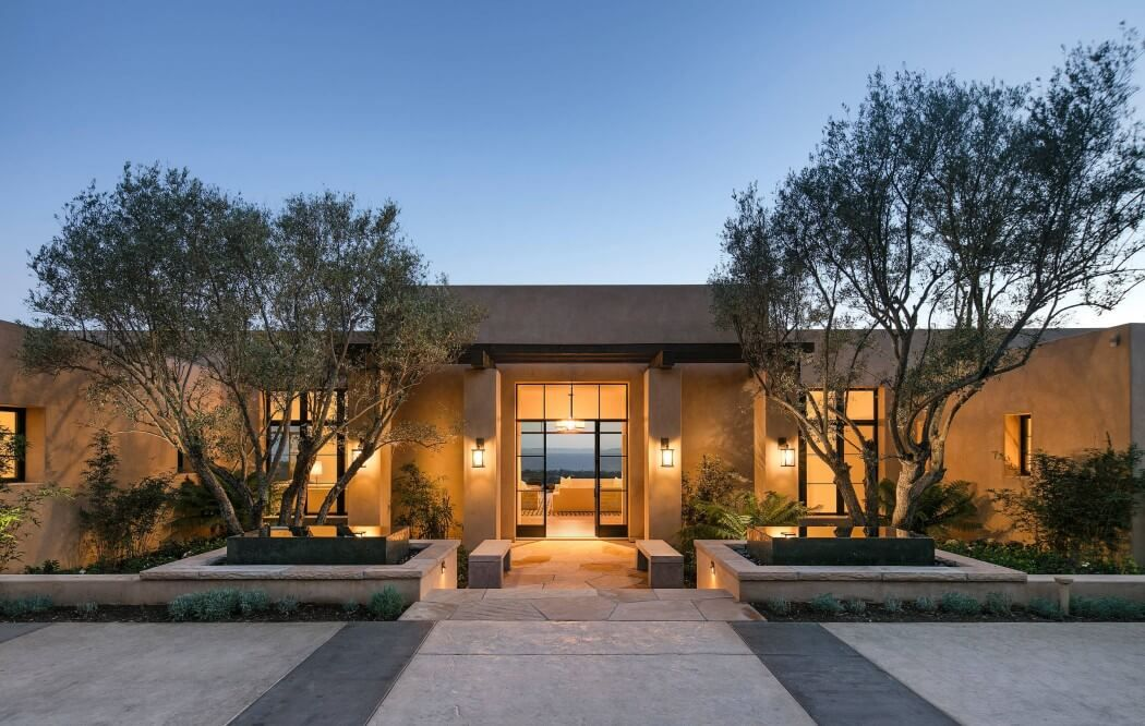 Mariposa residence by tom meaney architecture pinterest montecito california contemporary - Residence de luxe montecito santa barbara ...