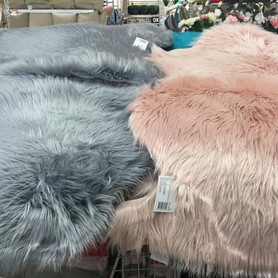 Kmart Lovers Australia On Instagram Product Found At Kmartgrapevine For 19 Kmart Kmartaus Kmartlo Grey Faux Fur Rug Faux Fur Rug Faux Sheepskin Rug