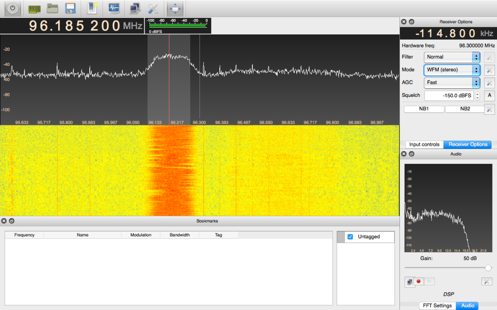 GQRX SDR Software for IOS | AC6OT's/Ham Radio/SDR | Ham radio, Mac