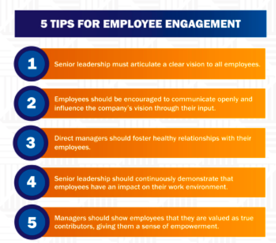 5 Tips for employee engagement from Dale Carnegie
