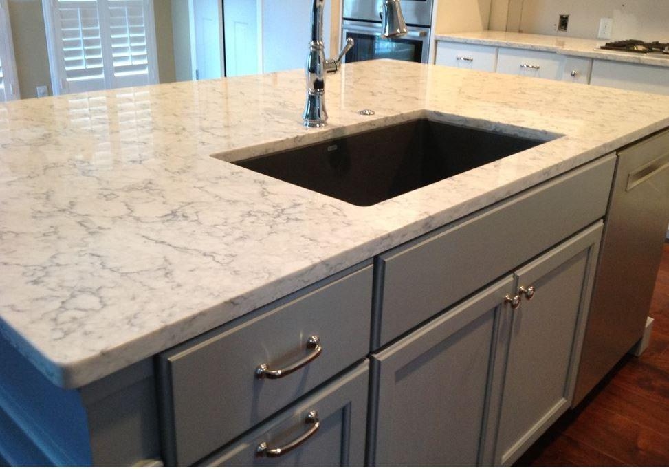 Viatera Rococo Quartz Grey Shaker Kitchen Kitchen Redesign