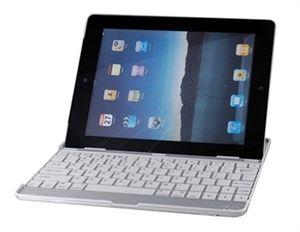 Base com teclado bluetooth para iPad 2 - Branco