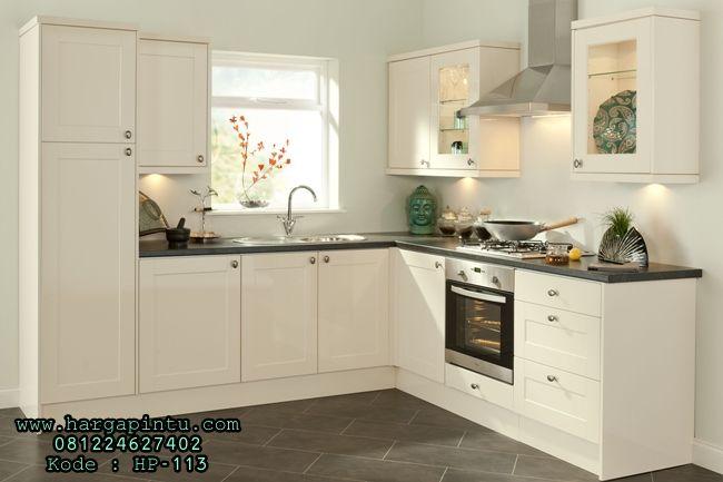 Desain Kitchen Set Minimalis Putih Duco Modern KITCHEN SET