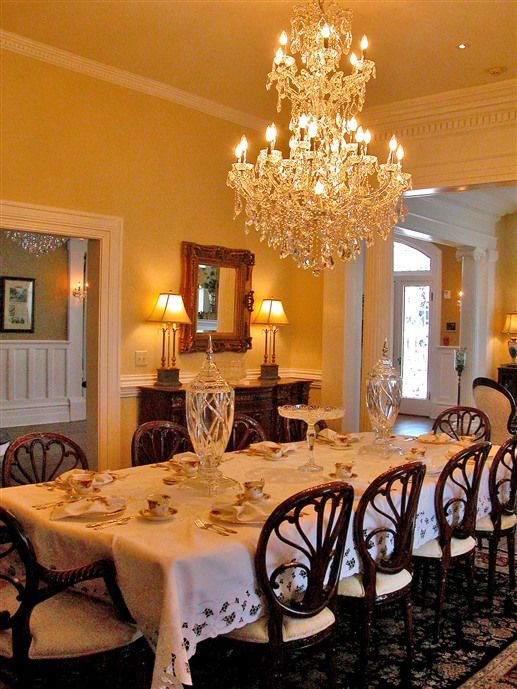 Dining Room In Trinkle Mansion Bed & Breakfast  Wytheville Va Fair Mansion Dining Rooms Decorating Inspiration