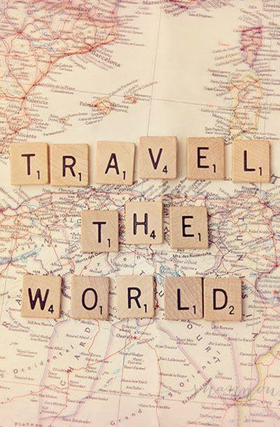 travel photography world journey map