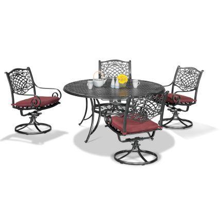 ashley uthlaut giovenco rochester collection 5 piece patio