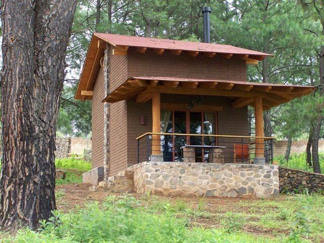 Caba as peque as caba as montereal tapalpa hotel for Planos de cabanas campestres