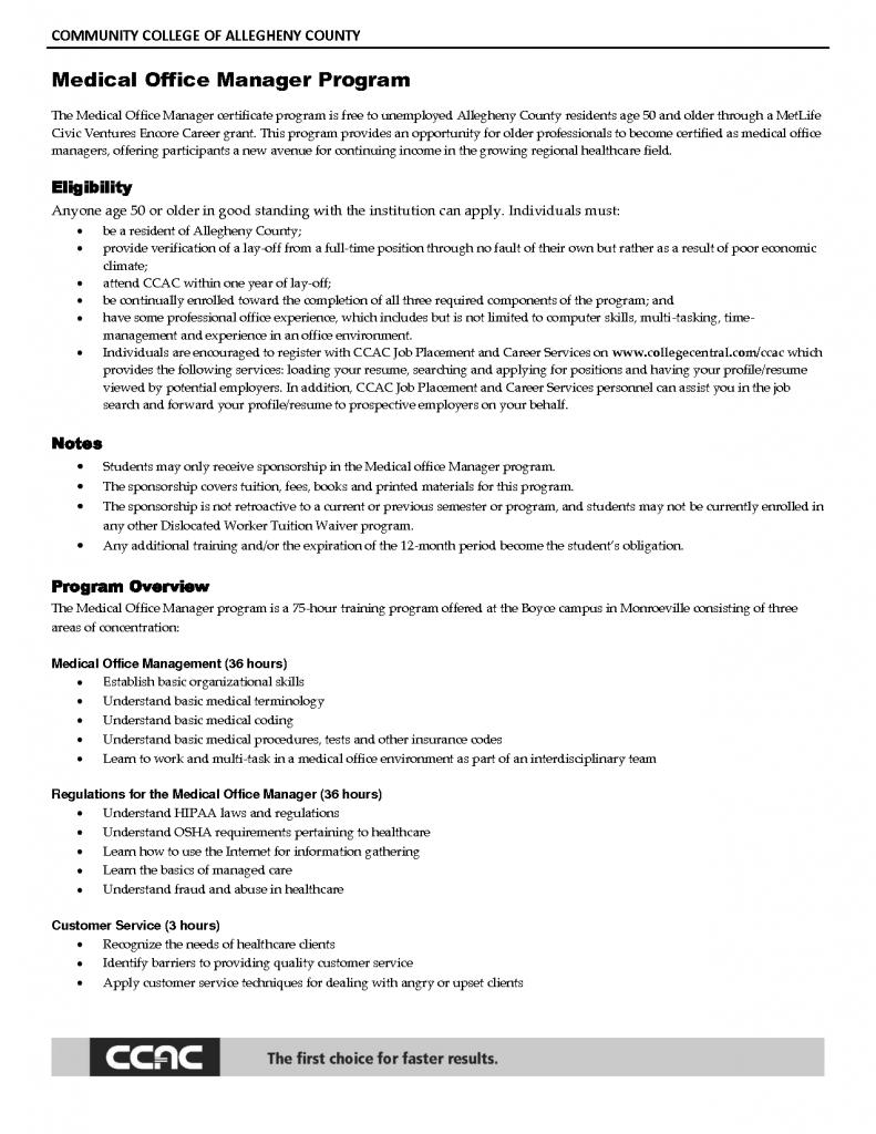 Sample Resume Of Help Desk Manager Office Manager Resume Office Manager Job Description Medical Receptionist