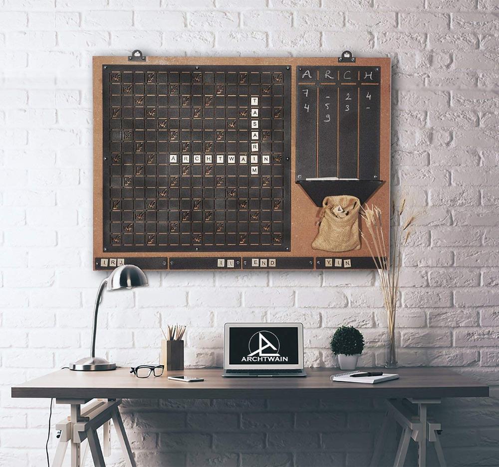 Tub‿BU Scrabble Wall Game: Amazon.fr: Cuisine & Maison en 15