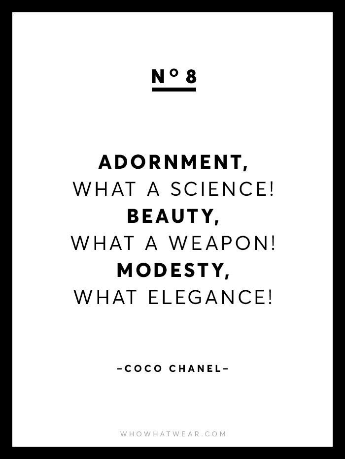 Chanel Quotes 13 Rare Coco Chanel Quotes  Pinterest  Coco Chanel Audrey Hepburn