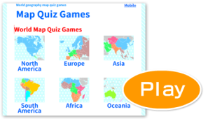 Map Quiz Games - MapQuiz | World geography games, World ...