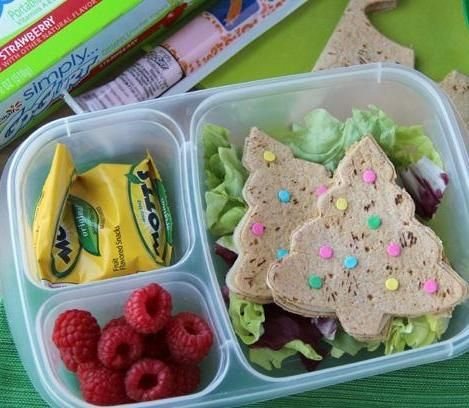 cute christmas lunch ideas