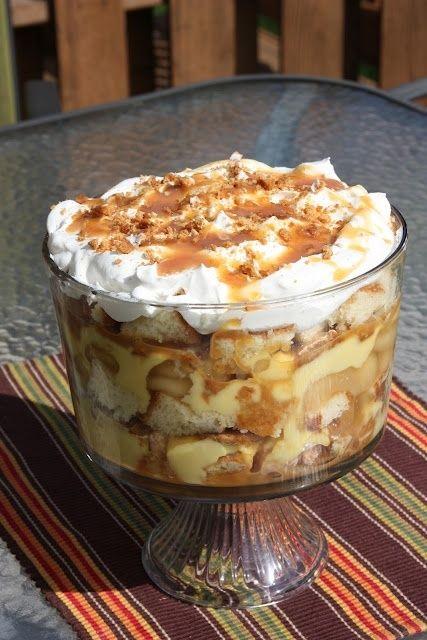 food desert recipes caramel apple trifle