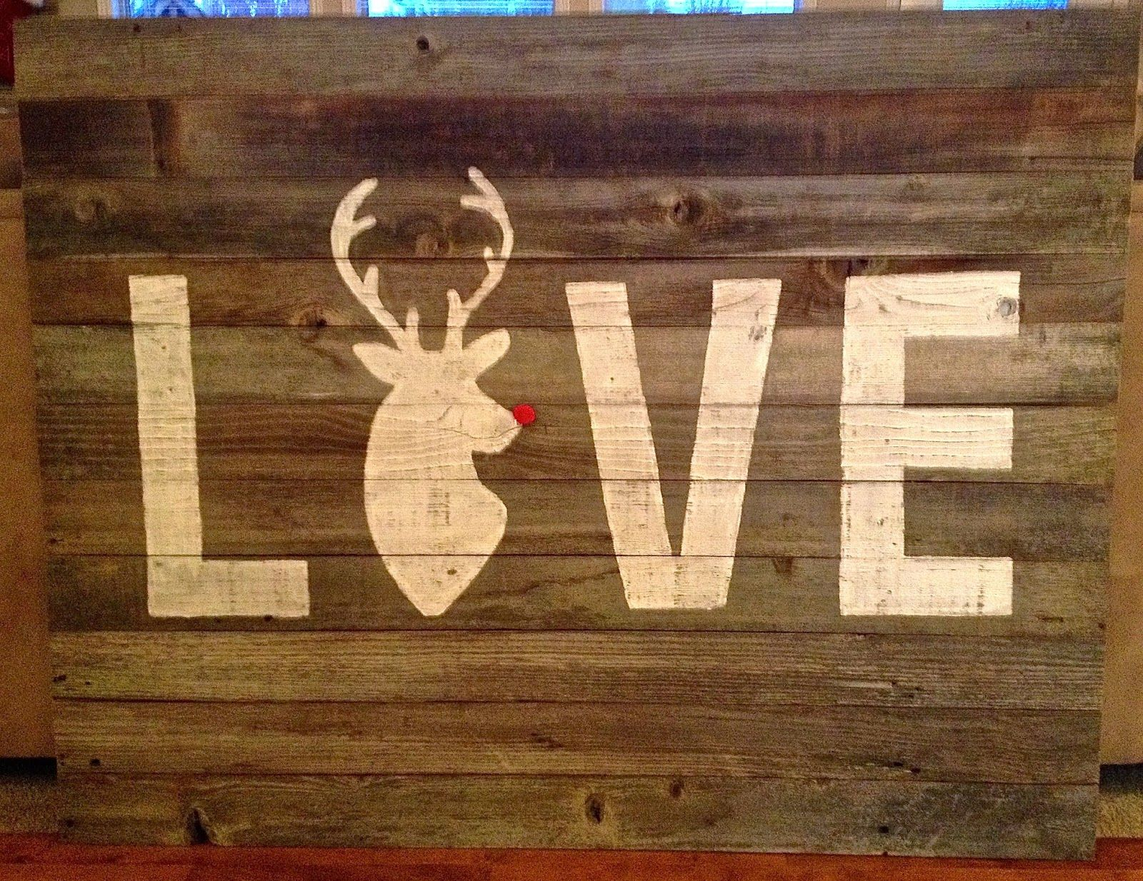 """LOVE"" Sign | Lisa Lindley Designs"