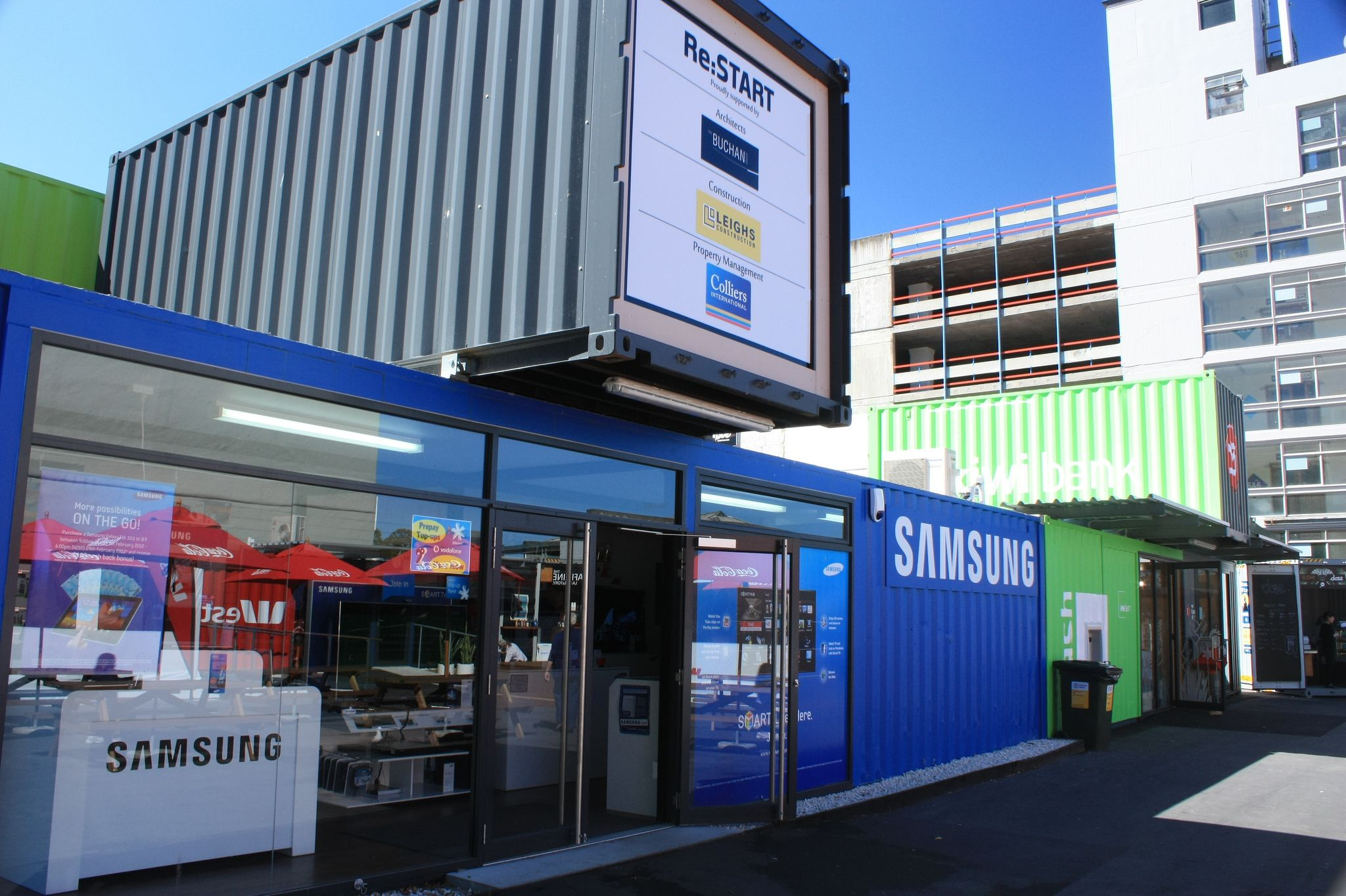 christchurch shipping container shops container shop