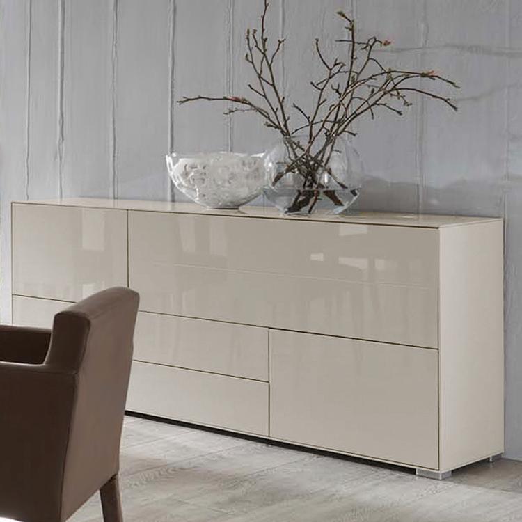 Nett Sideboard Hochglanz Creme Deutsche Sideboard Dresser Beige