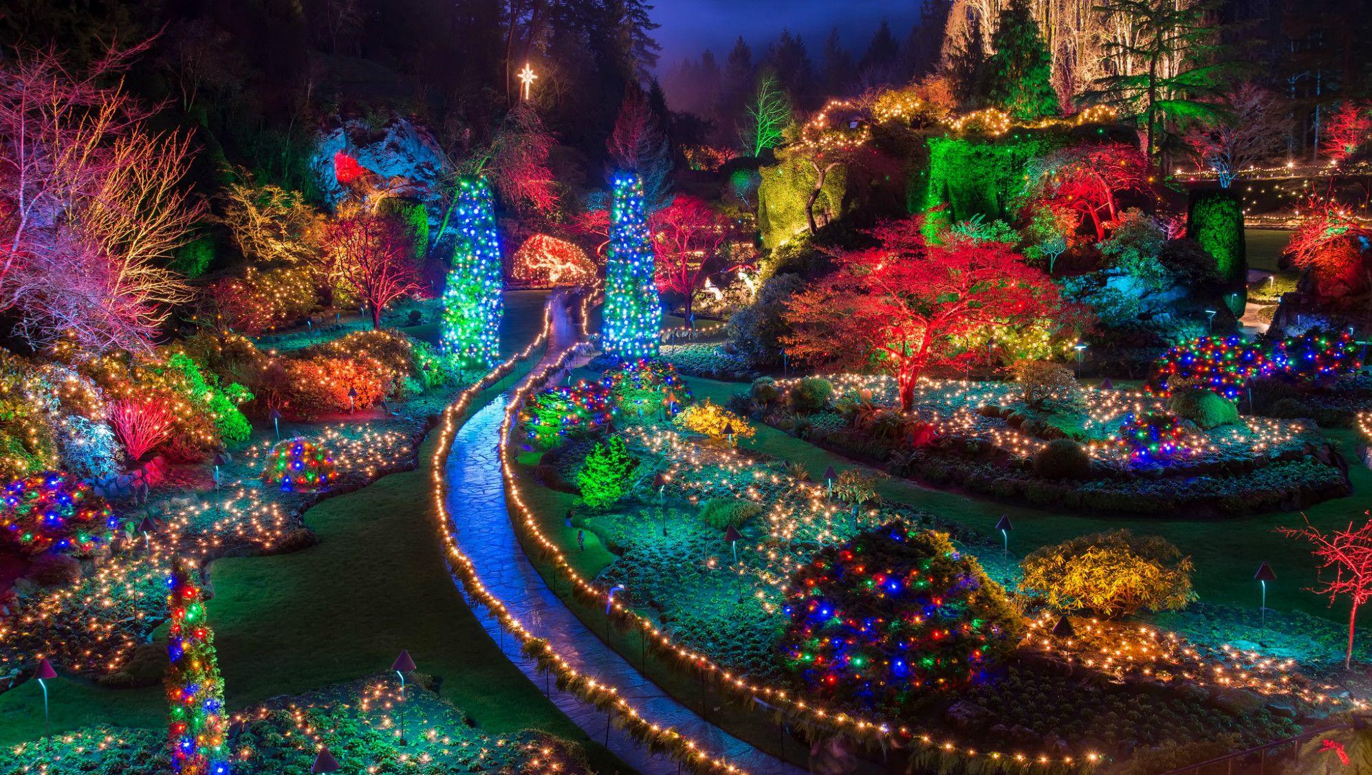 The Magic Of Christmas At Butchart Gardens #butchartgardens