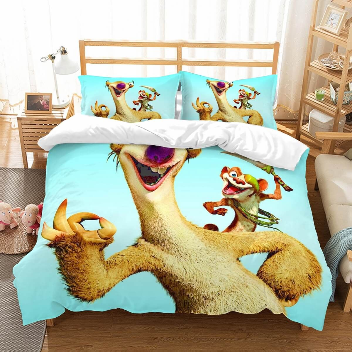 Customize Ice Age Bedding Set Duvet Cover Bedroom