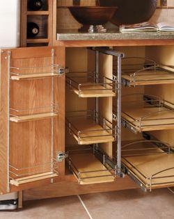 Unique Base Cabinet Pull Out