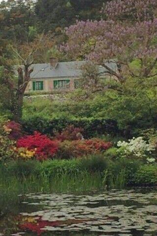 Casa de Monet. Givenchy Francia