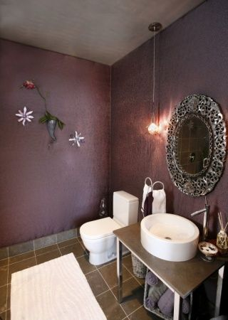 Chambre adulte Gris Mauve Luxueux | Decoration