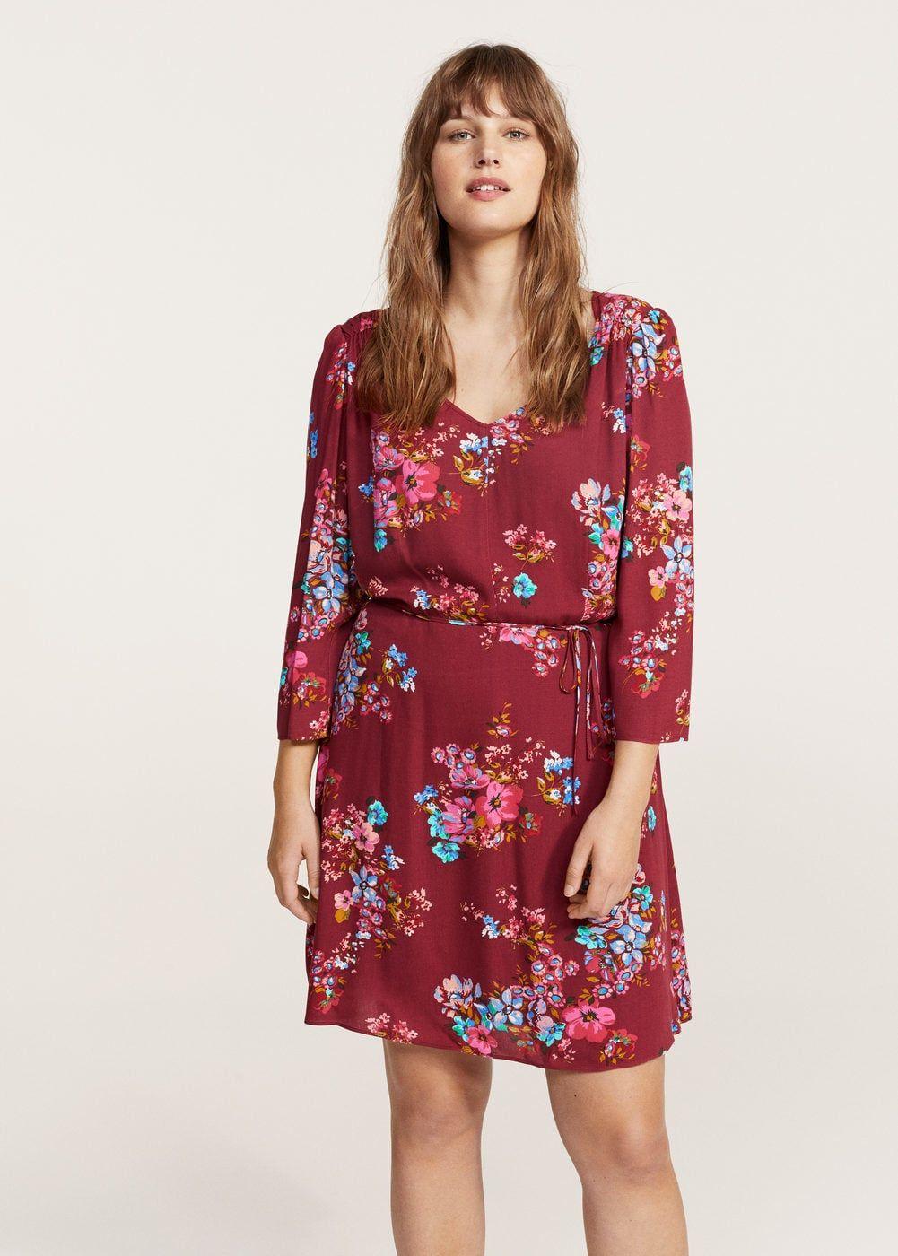 Kleid mit blumendruck - Große größen | Pinterest | Blumendruck ...