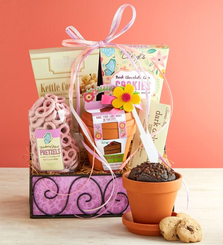 Say Happy Birthday with the Deluxe Balsam Gift Basket from