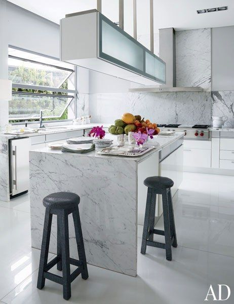 Kitchen Floor Marble look inside nancy gonzalez's opulent home in colombia | marble