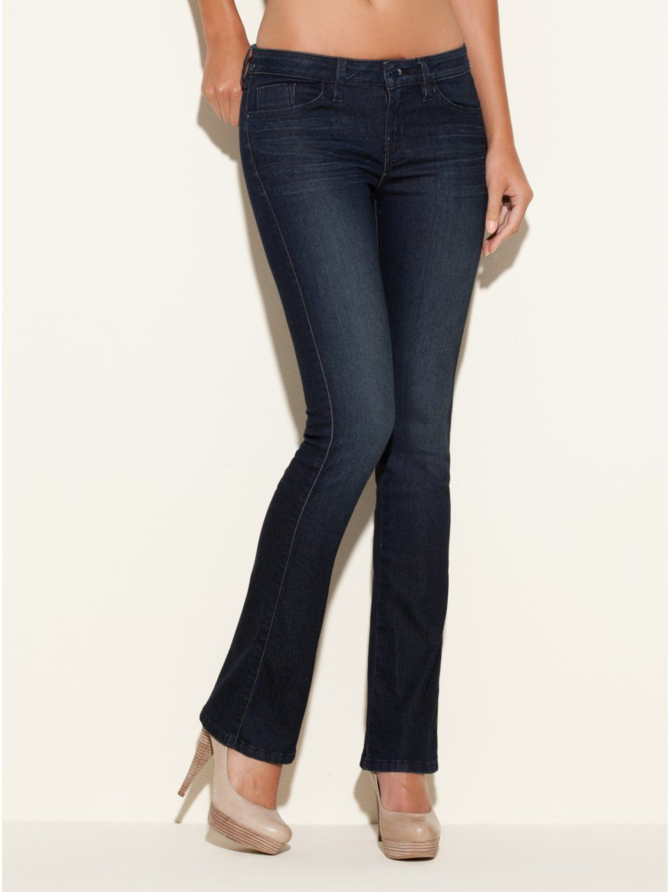 7ca9990e5 GUESS Brittney Petite Bootcut Jeans in CRX Was, CRXN WASH (29)   n ...