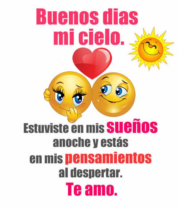 Buen Dia Frases Pinterest Love Quotes Love Y Good Morning