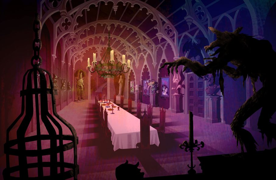 Stephen nicodemus 1 classic retro haunting visual language hi all these are a few backgrounds i painted from season one on scooby doo mystery incorporated sdmi this was from the vincent voltagebd Images